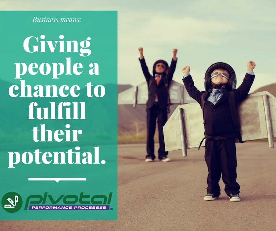 chance to fulfill potential